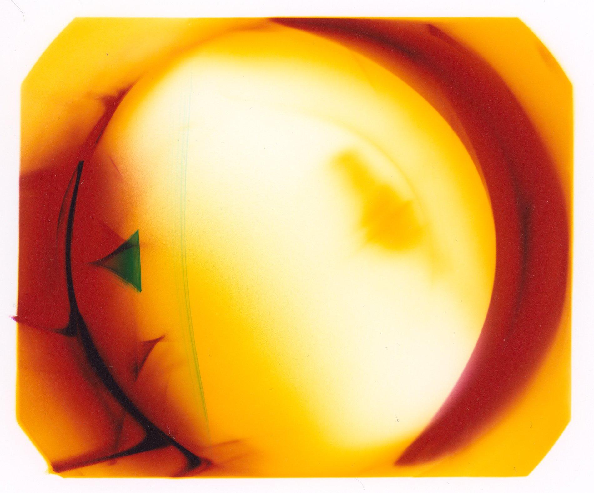 photogram using lens