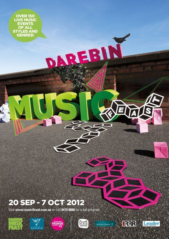 darebin music feast campaign